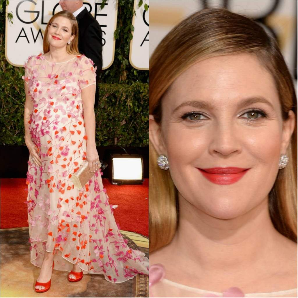 Drew Barrymore_Golden Globes_2014