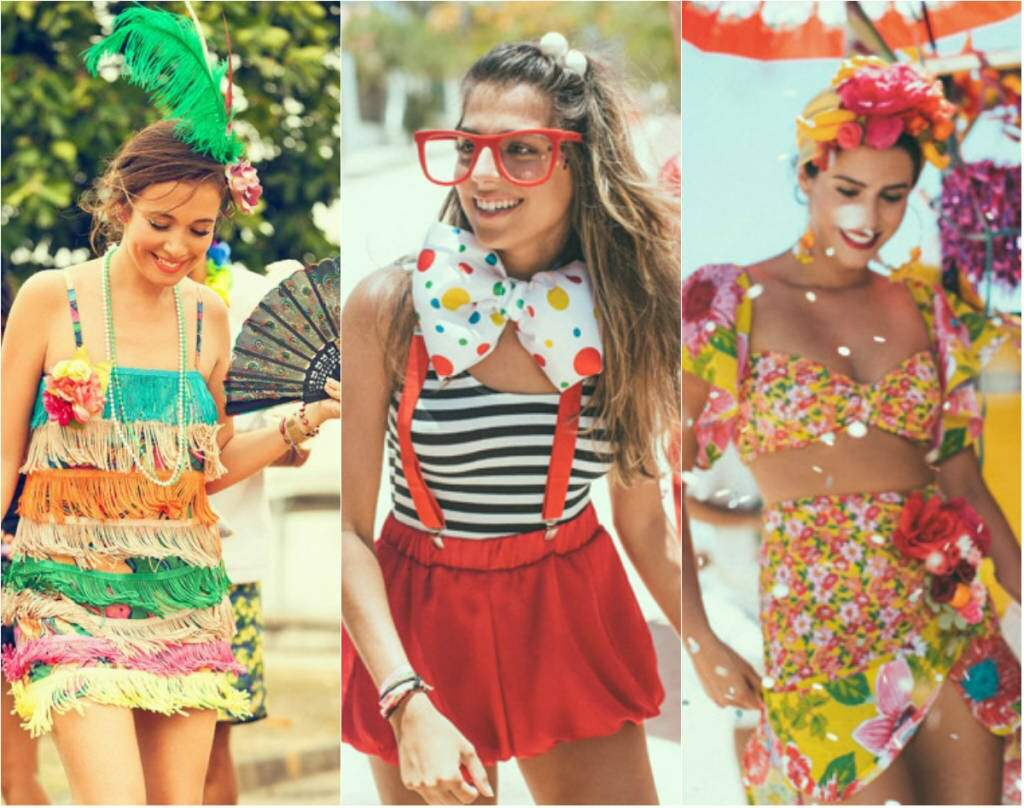 Looks de carnaval_caricatos