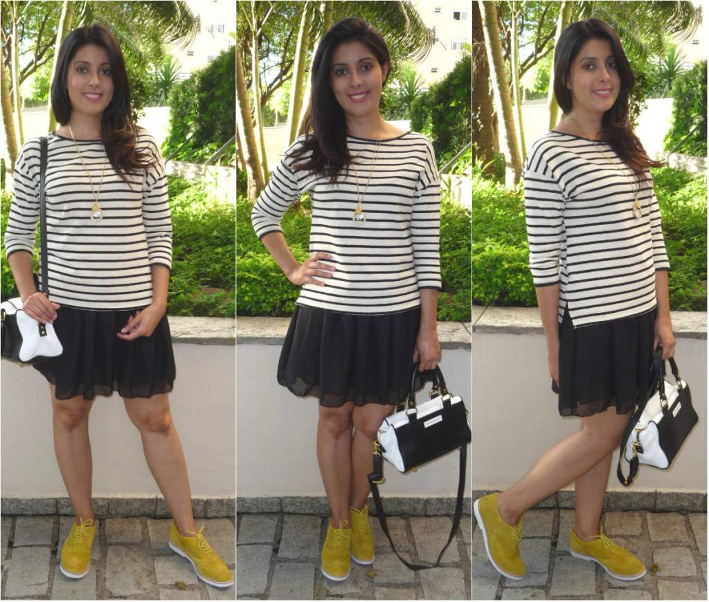 Look do dia_oxford amarelo
