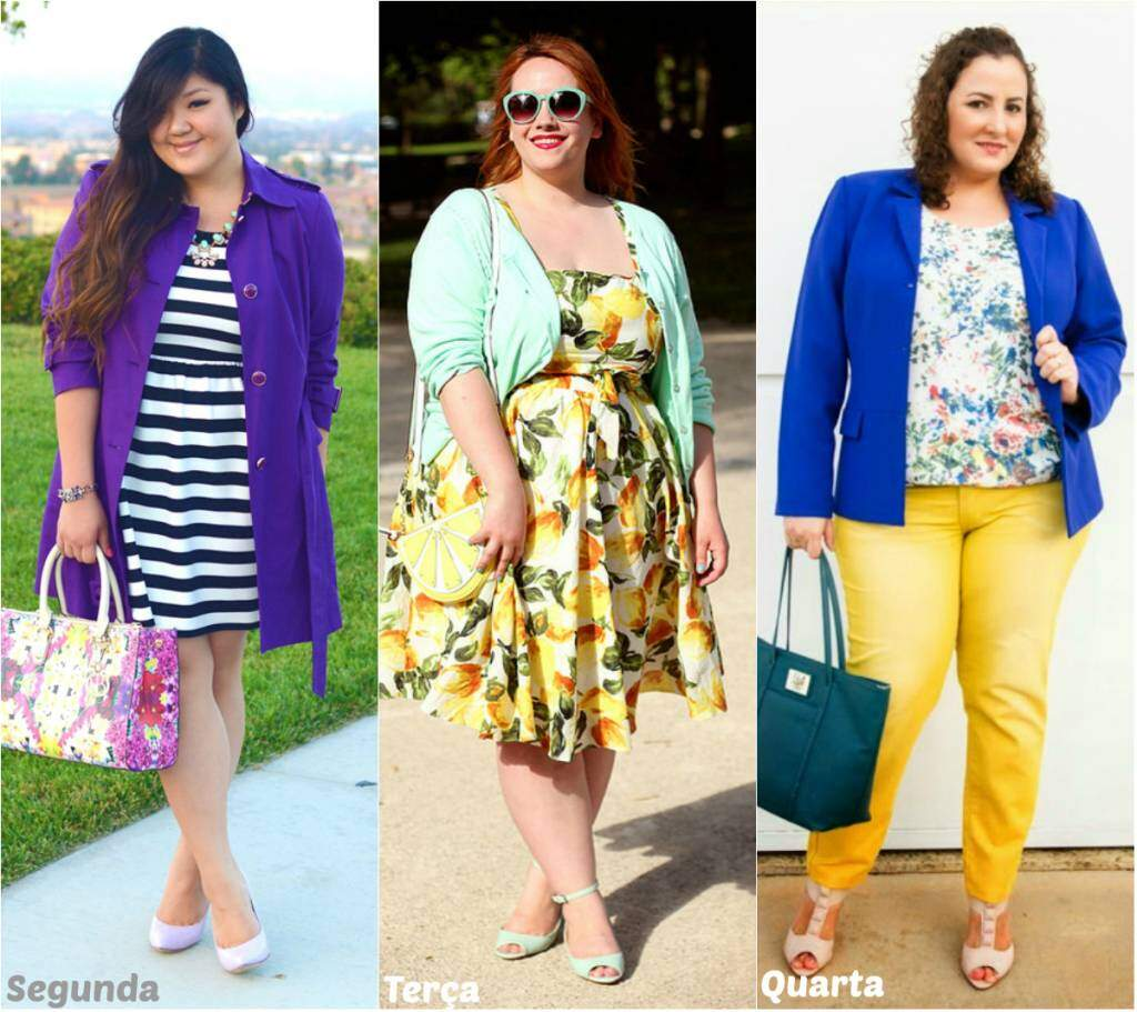 Looks para a semana_Plus Size_elropero_a
