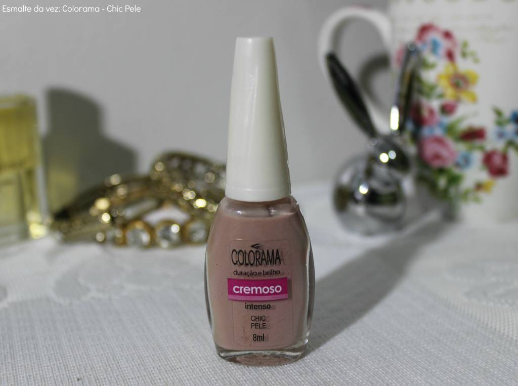 1_Esmalte da vez_Colorama Chic Pele_ blog El Ropero_Juliana Sena