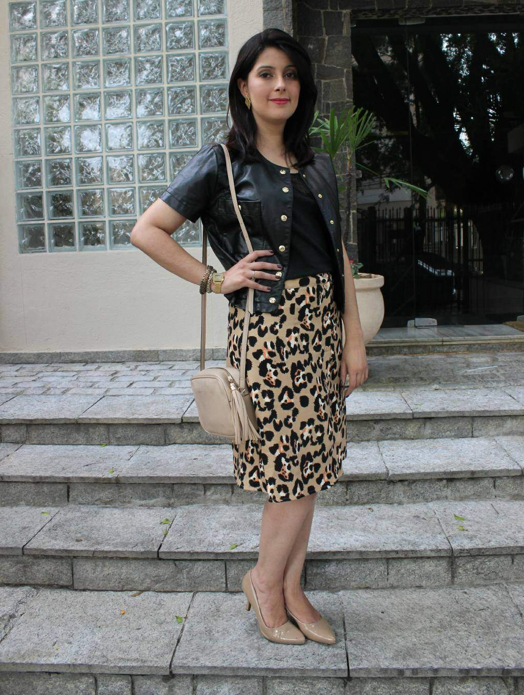 3Look do dia_saia midi de oncinha_casaqueto_blog el ropero_ juliana sena