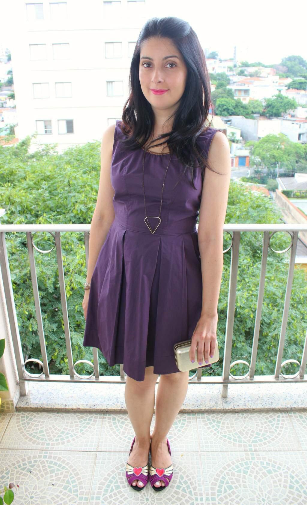 look_sapato loulux_roxo_vestido de natal_blog elropero