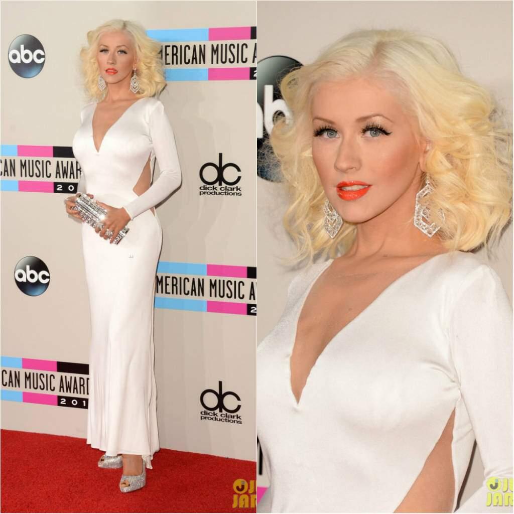 Christina Aguilera AMAs 2013